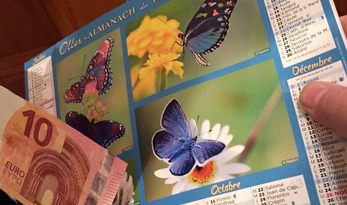 Les faux vendeurs de calendriers ne sont pas repartis les mains vides - illustration @ Infonormandie