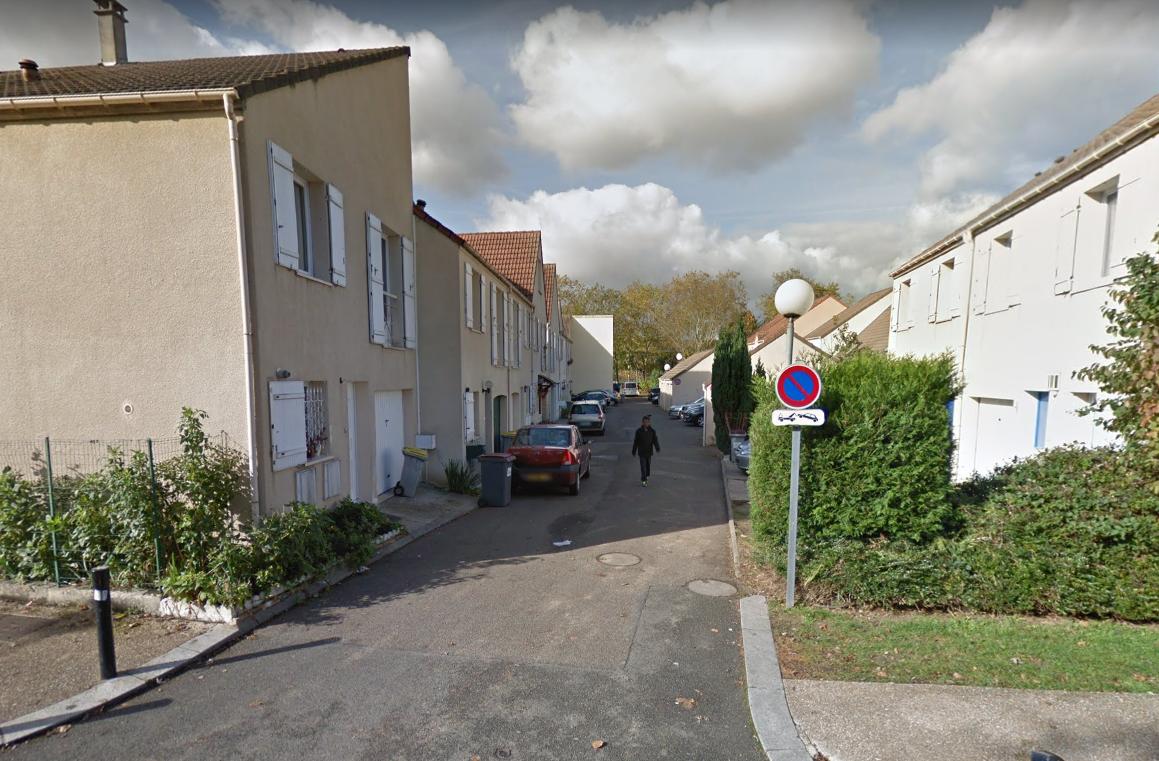 Le quartier de la rue Camille-Claudel est bouclé ce matin par les forces de police - Illustration © Google Maps