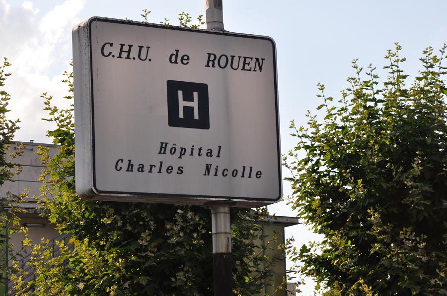 Blessé grièvement à l'avant-bras, le jeune homme devait subir une intervention chirurgicale au CHU de Rouen où il a été admis  - Photo © infonormandie