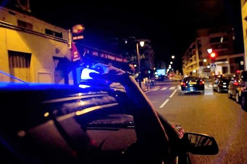 Les policiers sont parvenus à intercepter le véhicule du chauffard à Mont-Saint-Aignan, après tout un dangereux périple - Illustration