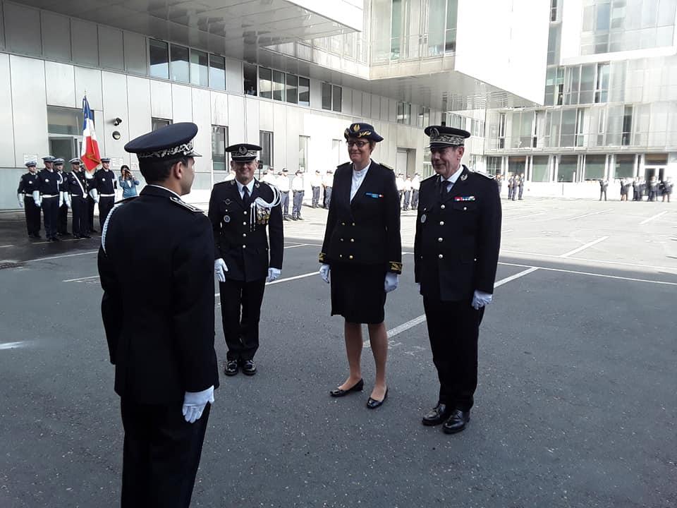 Le nouveau patron de la police du Havre a été installé officiellement ce mercredi matin - Photo © Police nationale de Seine-Maritime/Facebook