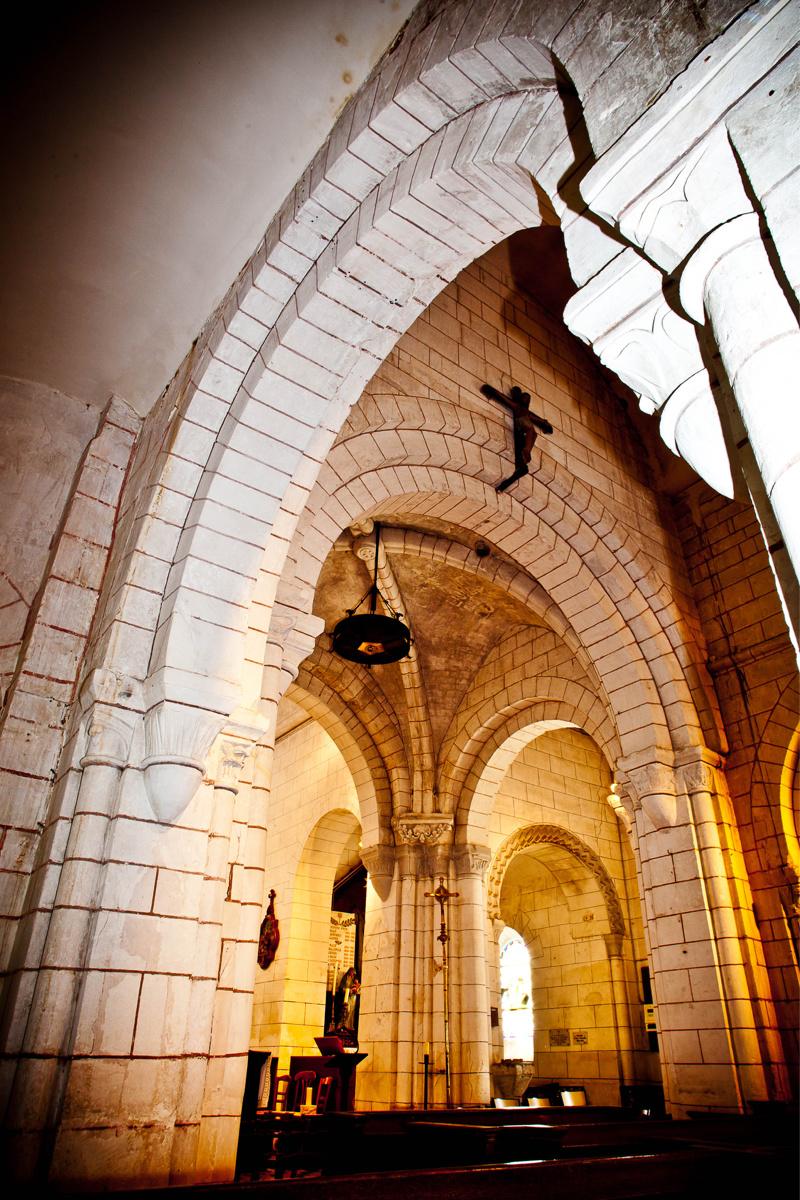 La Hêtraie vous invite à vous laisser surprendre par la magnifique église romane de Sainneville - Photo © D.R./La Hêtraie