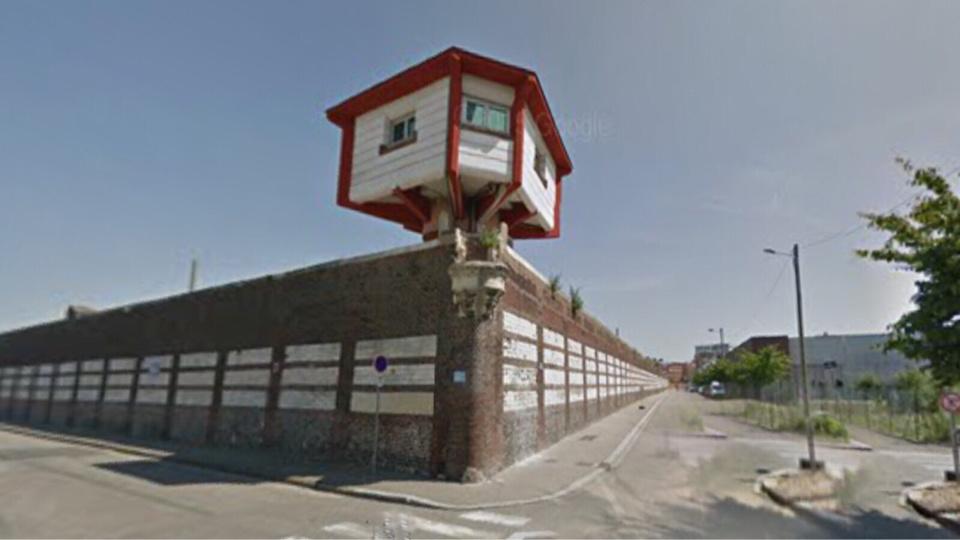 La maison d'arrêt de Rouen - Illustration E Google Maps
