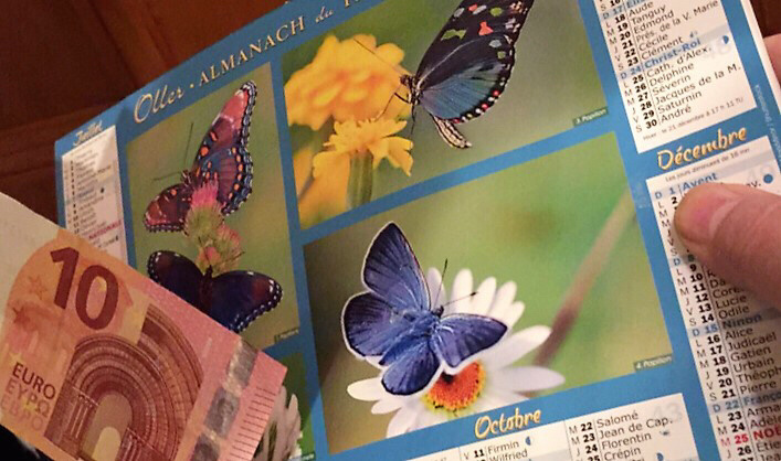 Attention aux faux vendeurs de calendriers à l'appryde la fin d'année - Illustration @ infonormandie