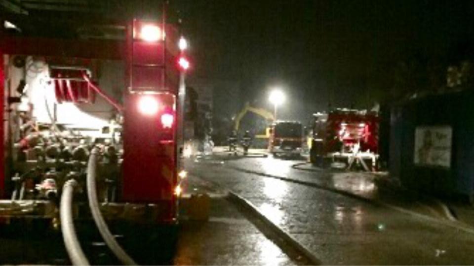 Soixante-cinq sapeurs-pompiers ont été mobilisés sur l'intervention à partir de 6h27 - Photo d'illustration