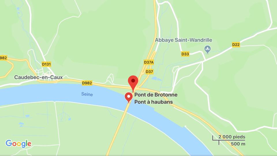 Un jeune homme retrouvé mort après une chute du pont de Brotonne, en Seine-Maritime