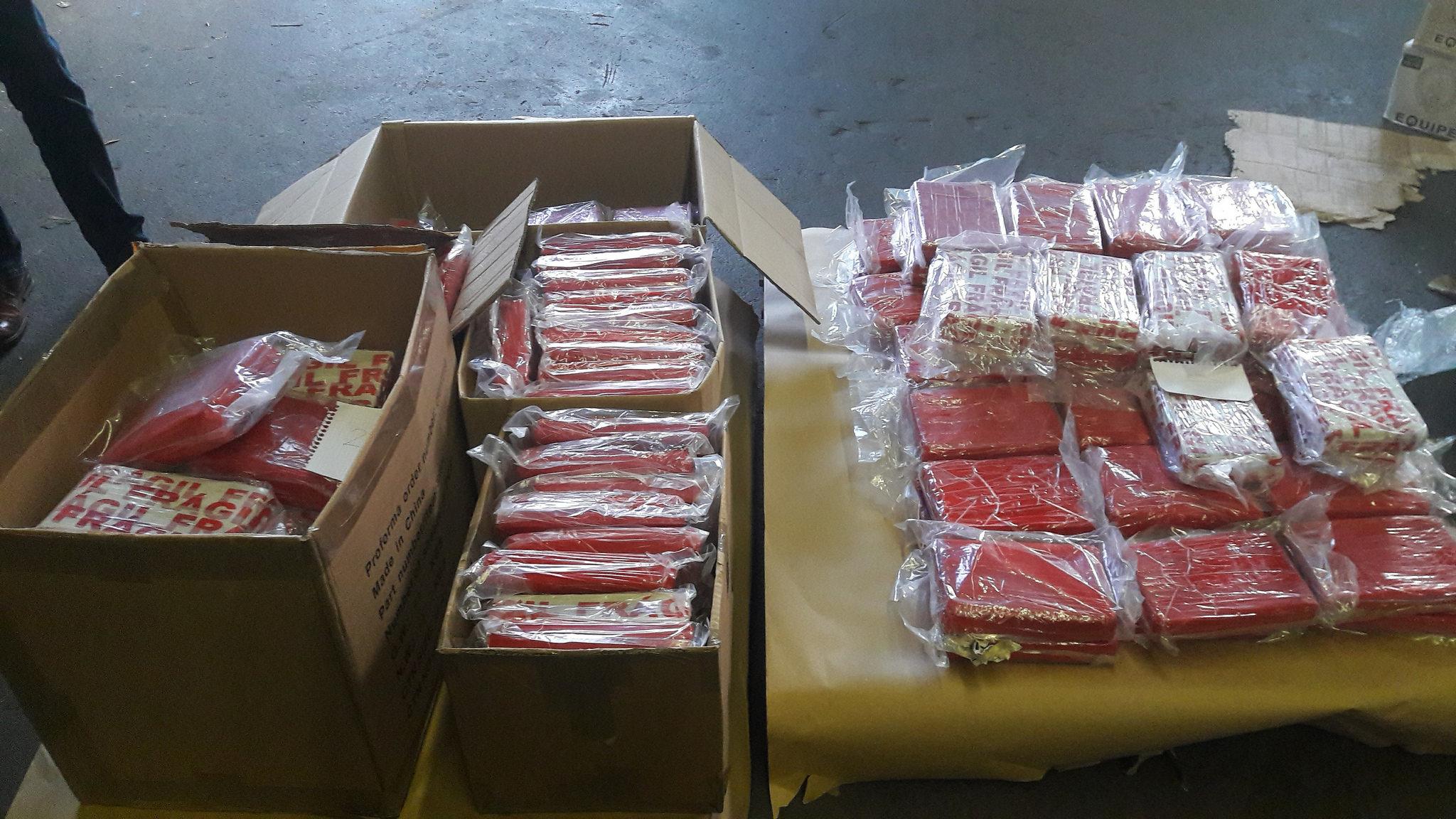 153 kilos de cocaïne saisis dans un semi-remorque Slovène contrôlé sur l'autoroute A1
