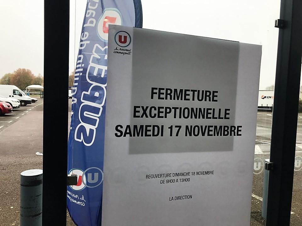 Le magasin Super U à Saint-Aquilin-de-Pacy sera fermé exceptionnellement ce samedi 17 novembre - Photo © infonormandie