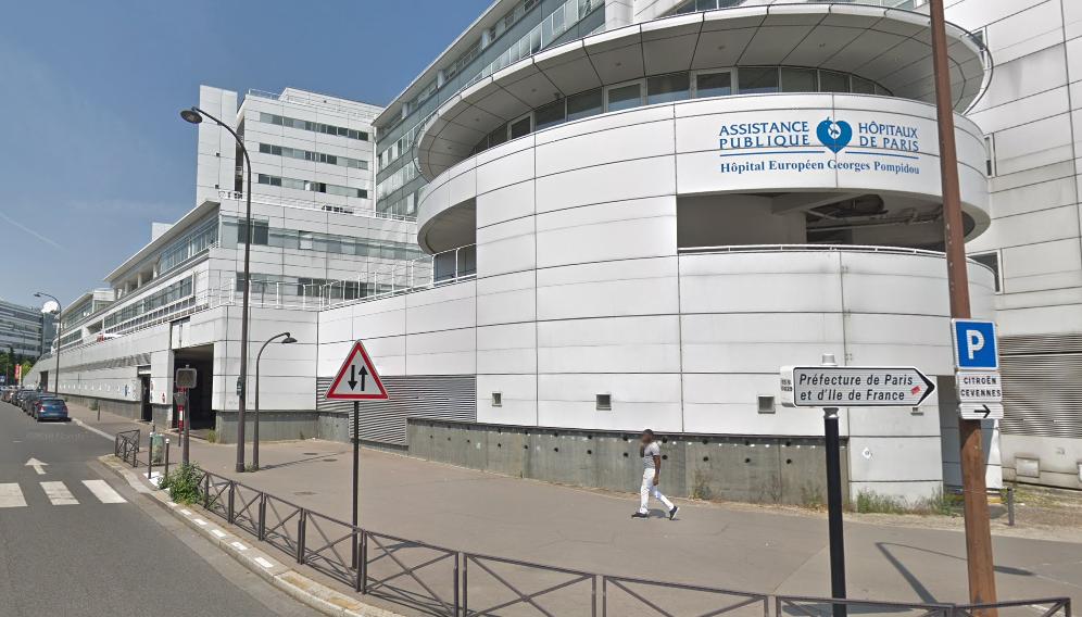 La gravité des blessures a nécessité le transfer de la victime à l'hôpital Pompidou à Paris XVe - illustration
