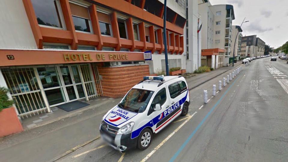 L'hôtel de police d'Evreux, rue de la Rochette