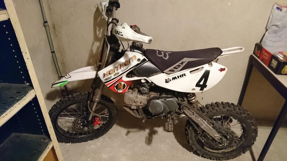 La moto de cross a été confisquée par les gendarmes comme le permet désormais la nouvelle loi du 3 août 2018  - Photo © Gendarmerie de l'Eure