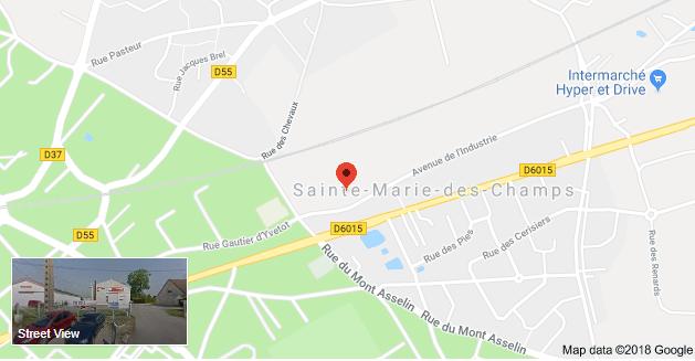 Violent incendie à Sainte-Marie-des-Champs : trois entreprises ravagées, aucune victime