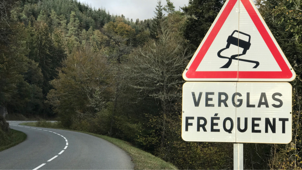 Attention au verglas sur les routes - Illustration @infonormandie