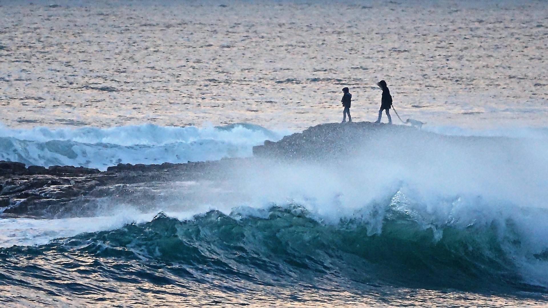 « Quelques minutes peuvent parfois suffire pour être isolé par la marée montante », préviennent les autorités maritimes - illustration © Pixabay