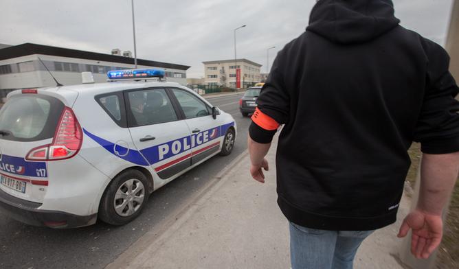 La voiture signalée volée a été repérée par les policiers de la BAC avenue du 14-Juillet à Sotyteville-lès-Rouen - Illustration © DGPN