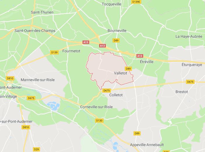 Eure : un jeune motard de Barneville-sur-Seine tué dans un accident à Valletot