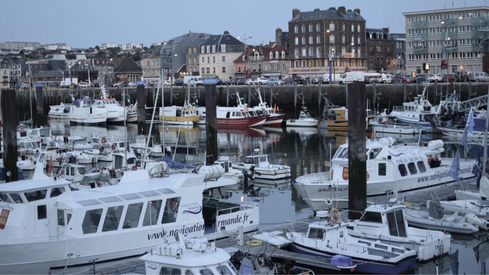 Le port de Dieppe - illustration @ Pixabay