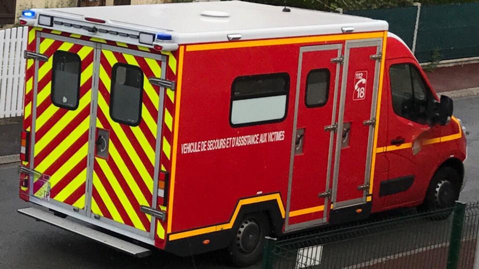Blessée au niveau du bassin, la conductrice a été conduite à l'hôpital - Illustration © infonormandie