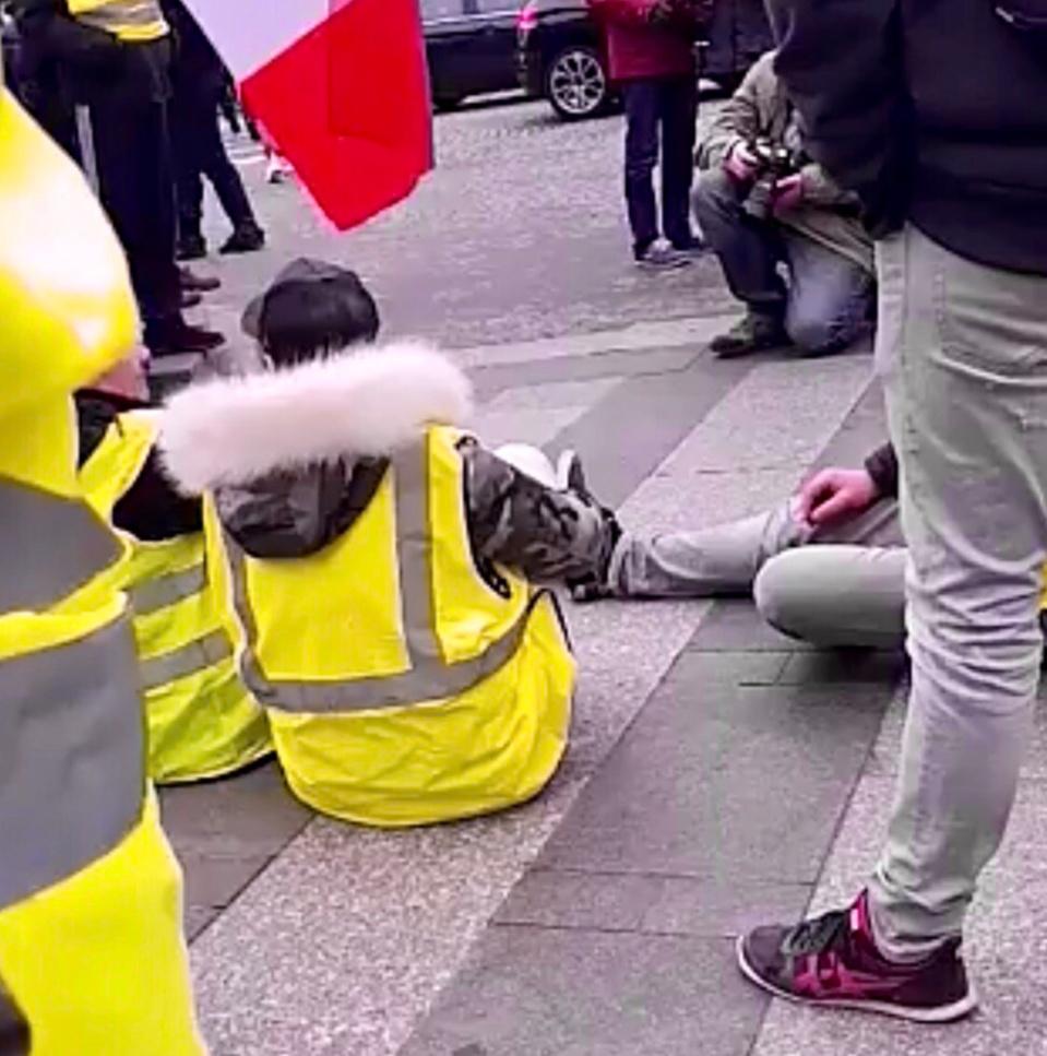 Des heurts se sont produits dans l'après-midi à Rouen entre certains manifestants et les forces de l'ordre. Pas de blessé, mais quatre interpellations - Illustration