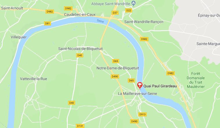 Un touriste anglais meurt dans son camping-car à La Mailleraye, en Seine-Maritime