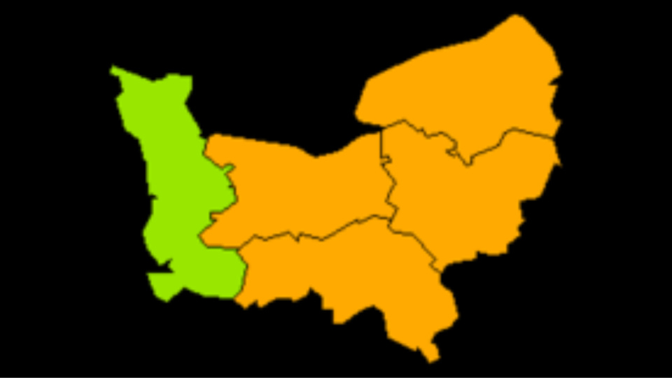 Quatre des cinq départements normands sont concernés par cette nouvelle alerte