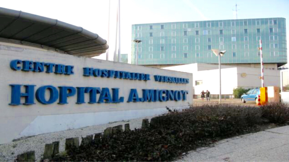 Le blessé a été admis aux urgences de l'hôpital André Mignot - Illustration