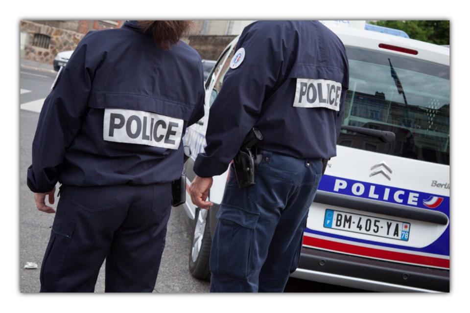 Les policiers ont retrouvé rapidement les deux voleurs qui se sont enfuis sur une trottinette électrique - Illustration