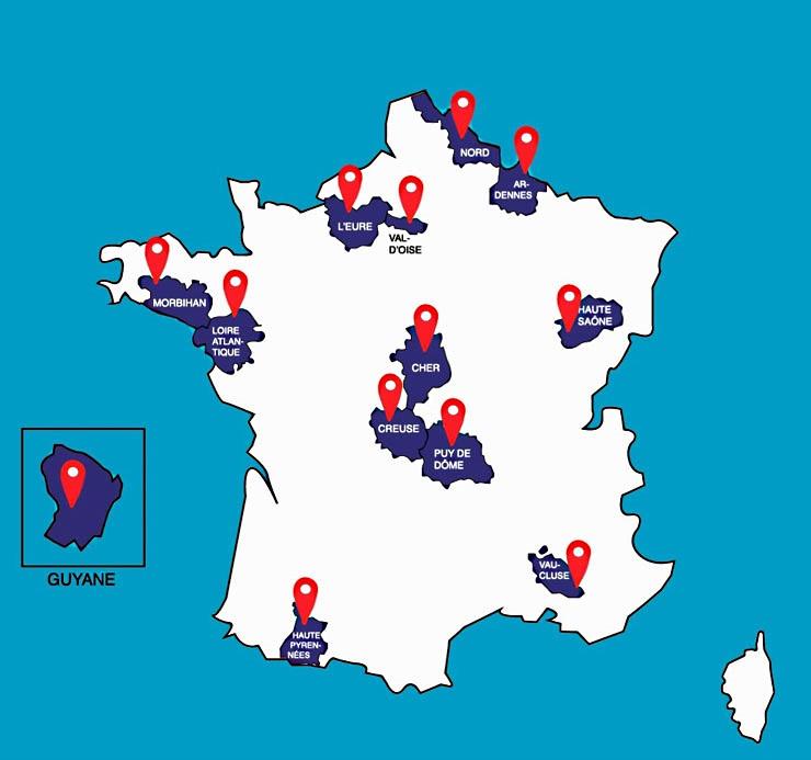 13 départements pilotes, dont L'Eure, ont été retenus pour le service national universel