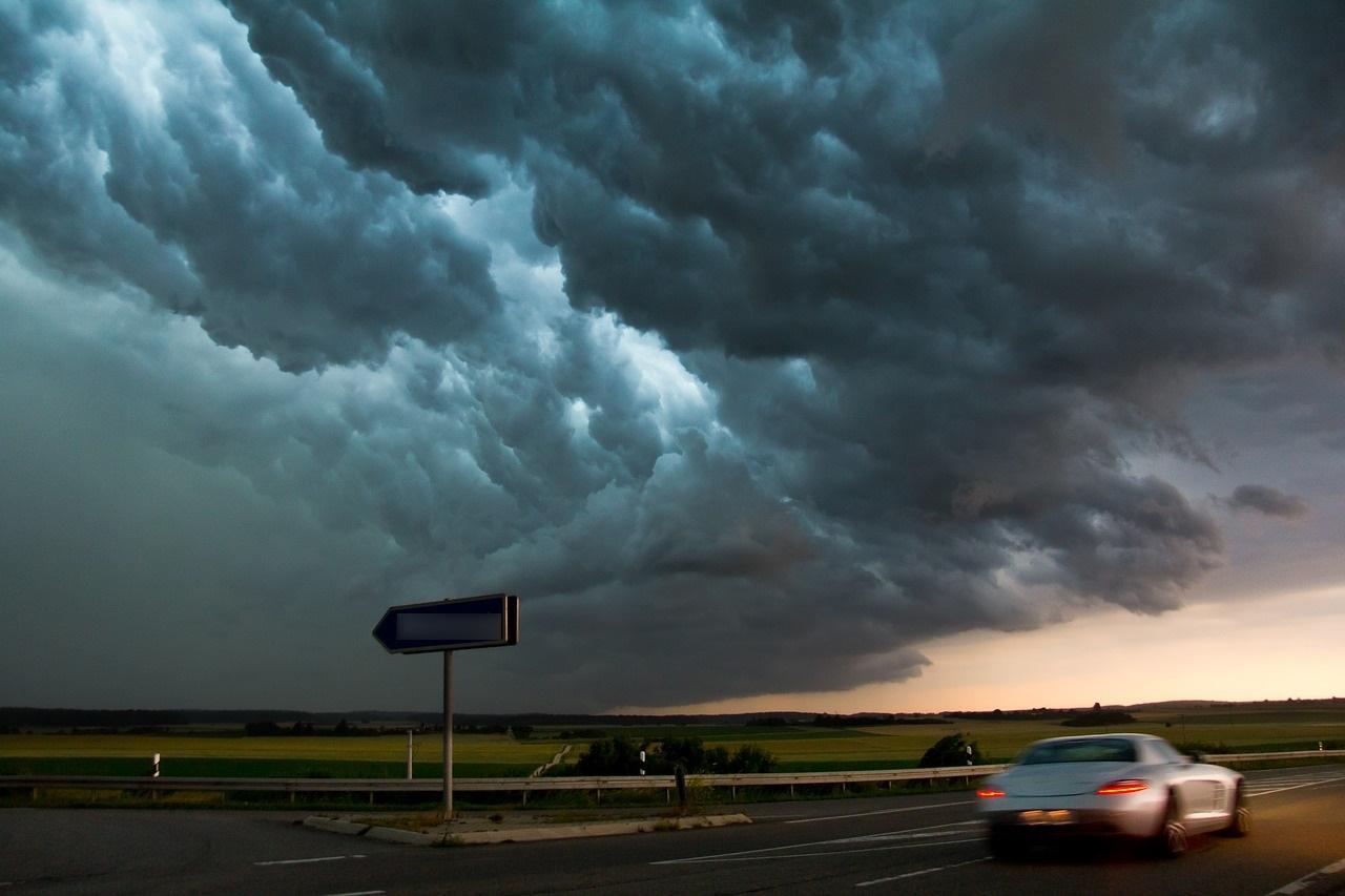 Une dizaine d'automobilistes ont été surpris par une averse de grêle - illustration © Pixabay