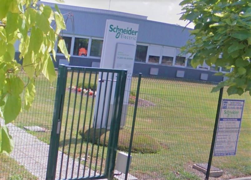 L'usine Schneider Electric au Vaudreuil