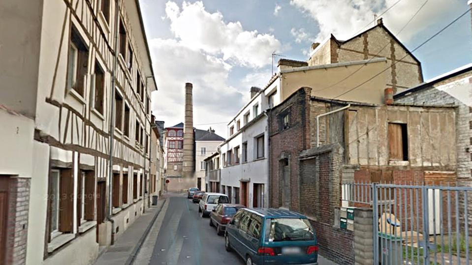 Rue Hervieux, à Elbeuf
