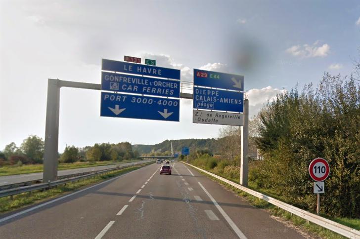 Travaux : circulation modifiée sur l'autoroute A131 entre Gonfreville-l'Orcher et Sandouville