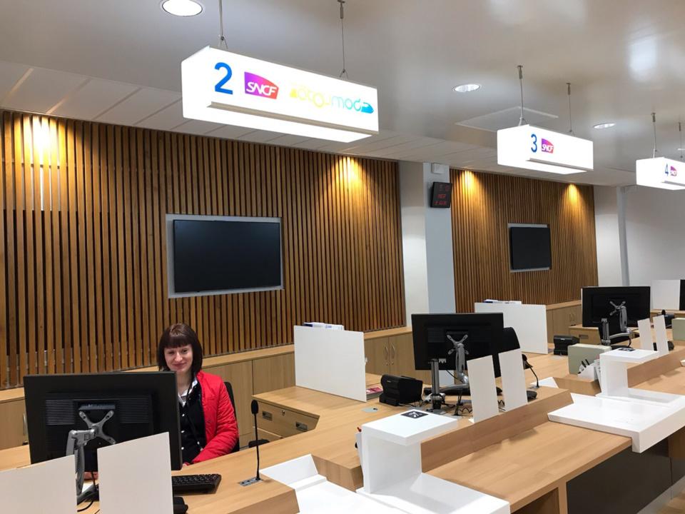 Le nouvel espace de vente a côuté 1,8 millions d'euros, financés par la Région, la Métropole et SNCF mobilités - Photo © Région Normandie