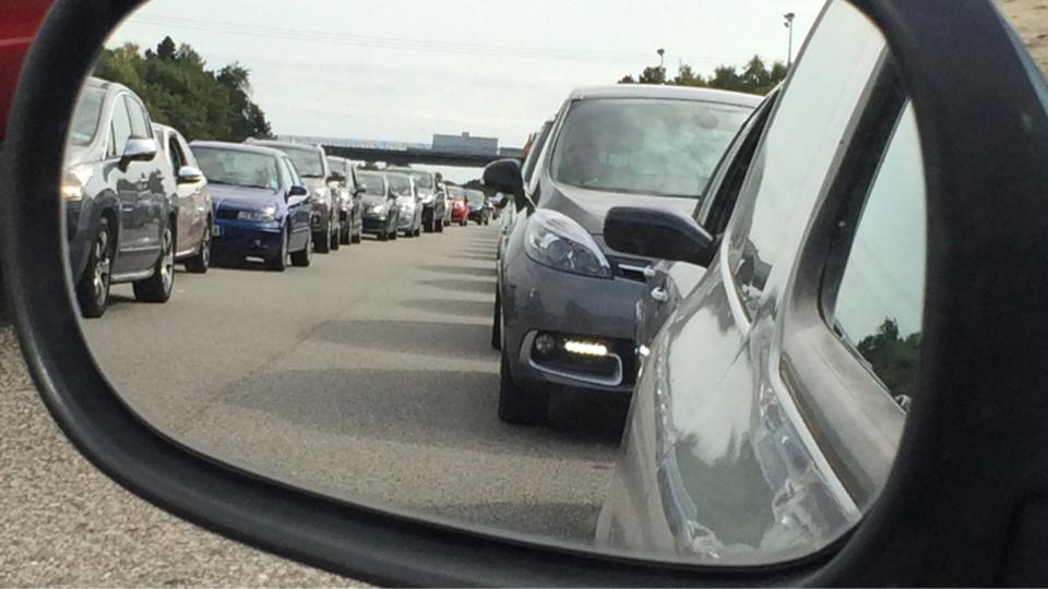 Des difficultés de circulation sont attendues ce vendredi soir et demain dans le sens des départs - Illustration @ Infonormandie
