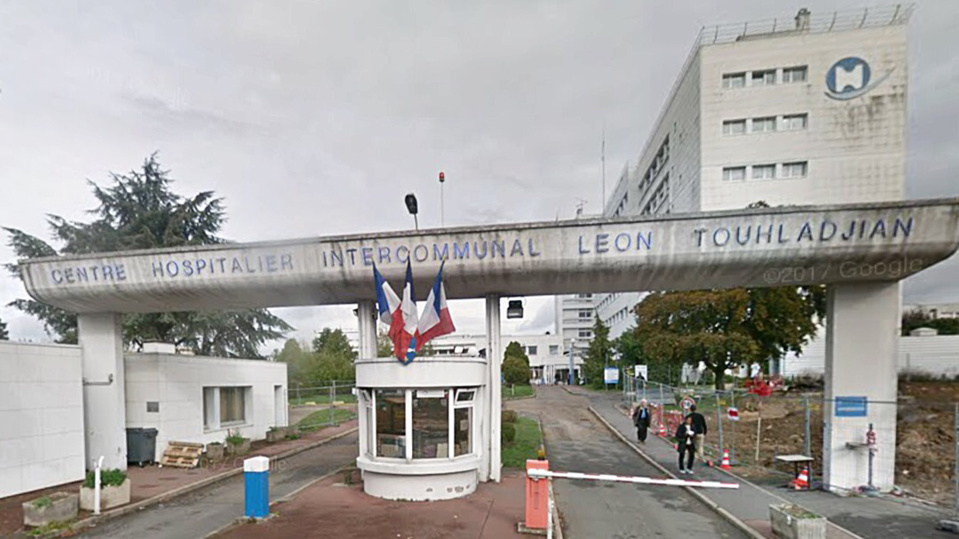 Le centre hospitalier de Poissy - Illustration