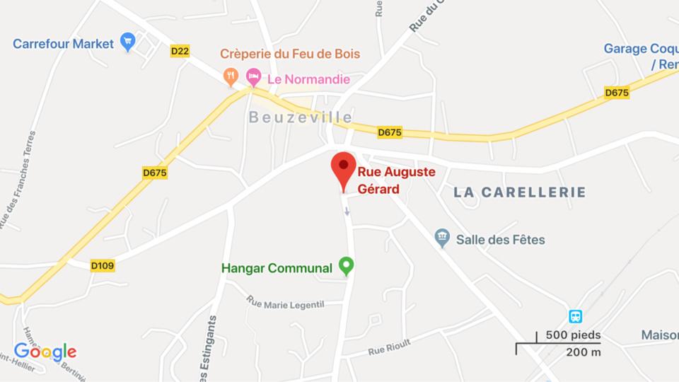 Eure : un incendie d'habitation mobilise vingt-cinq sapeurs-pompiers à Beuzeville