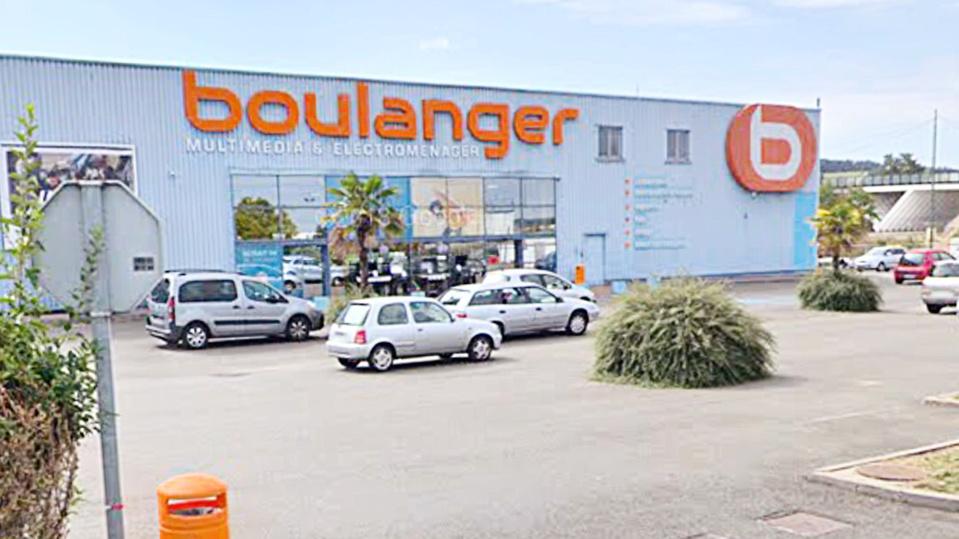 Le Magasin Boulanger à Buchelay Yvelines Cambriolé Le