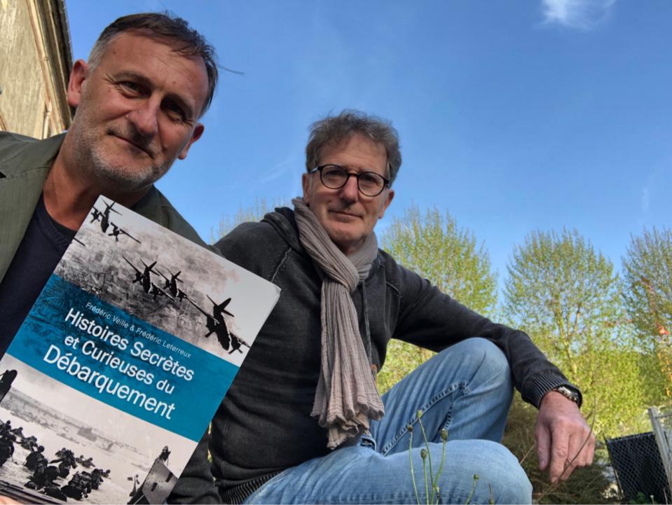 Frédéric Veille (à gauche) et Frédéric Leterreux  - Photo @ DR