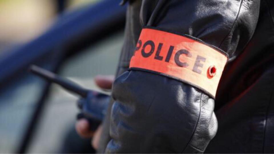 Le tagueur a été observé discrètement par la brigade anti-criminalité, avant d'être interpellé - Illustration