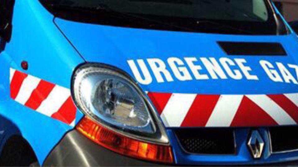 Les techniciens de GrDF ont colmaté la fuite dans l'attente de remettre en état la conduite - illustration