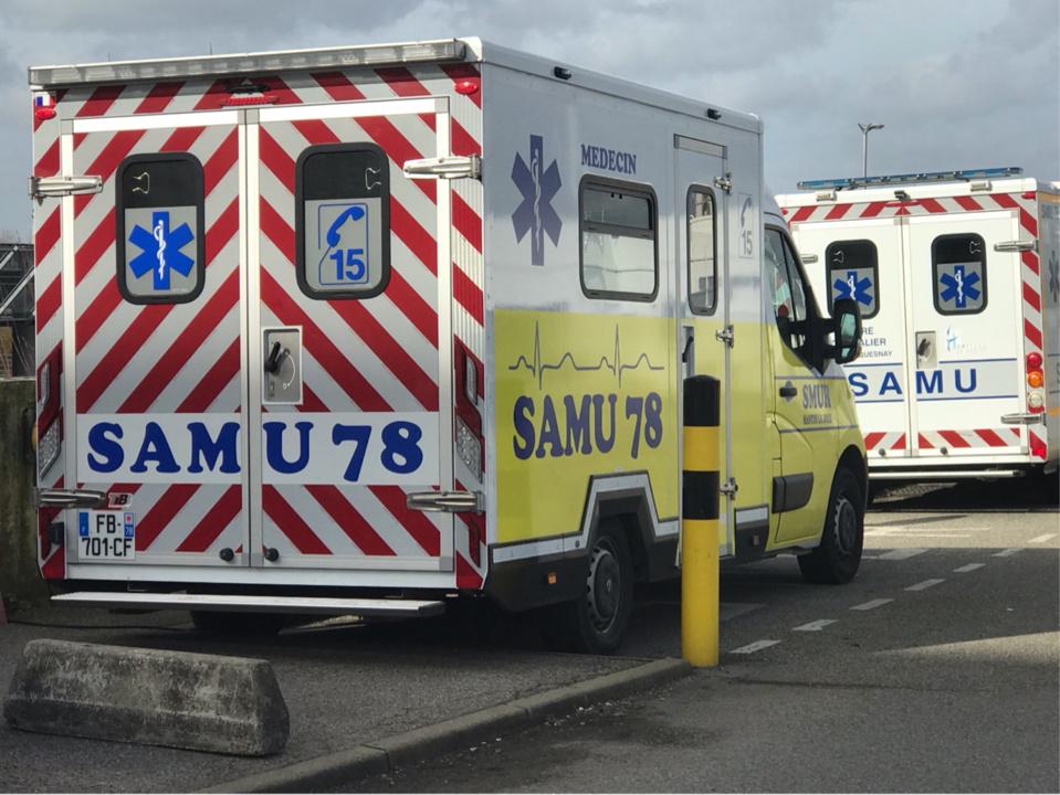 La quinquagénaire a été transportée en urgence absolue à l'hôpital Percy à Clamart (Hauts-de-Seine) - illustration © infonormandie