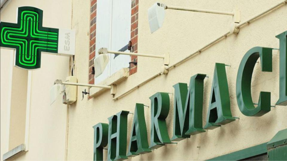 La victime s'est réfugiée dans une pharmacie - illustration