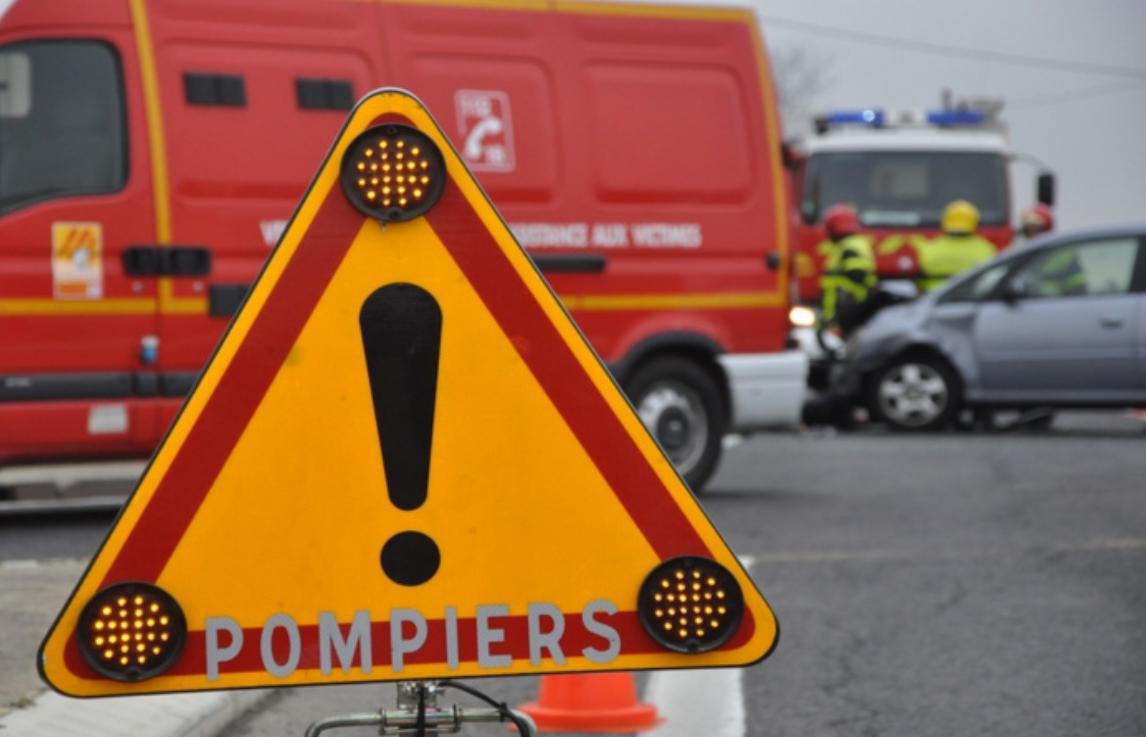 Secourue par les sapeurs-pompiers, la victime a été évacuée par hélicoptère vers le CHU de Rouen - Illustration
