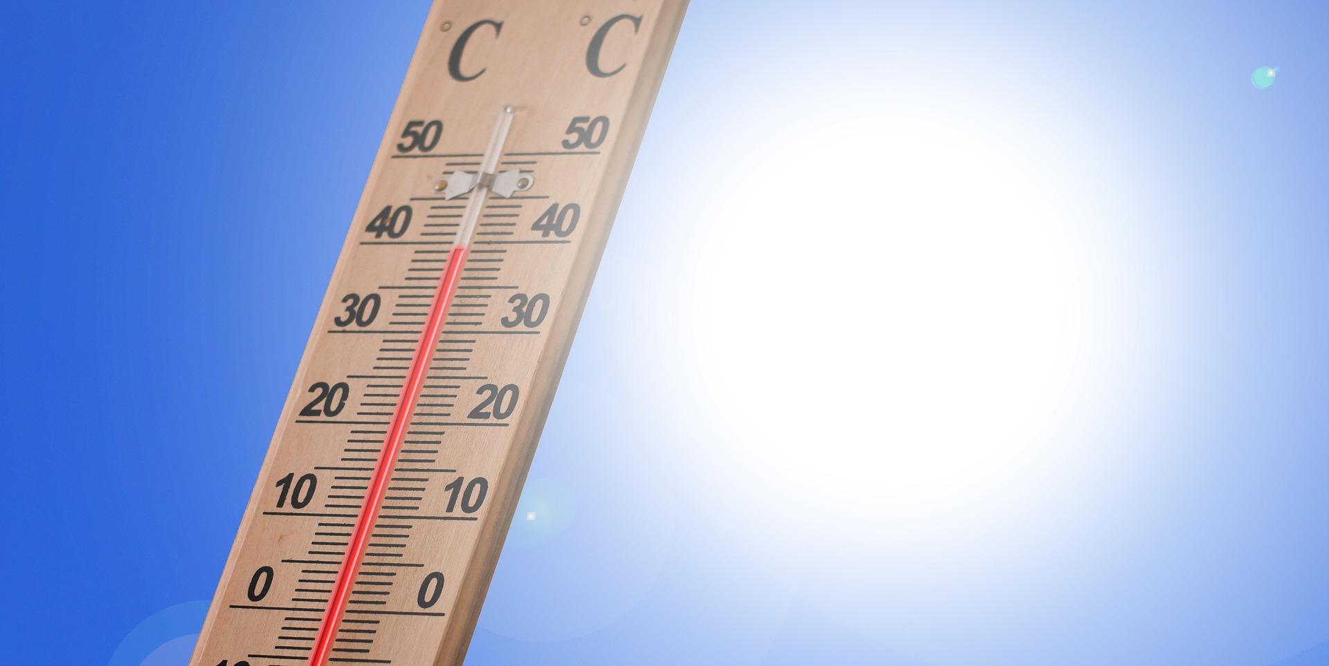Le mercure va flirter demain avec les 40° C  en Normandie - Photo Gerd Altmann de Pixabay