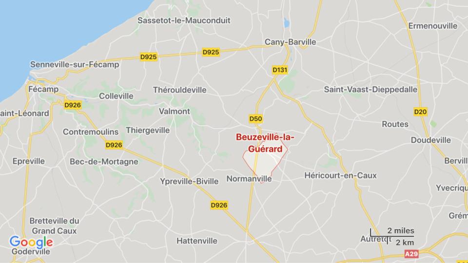 Seine-Maritime : 3000 m2 de chaumes ravagés par le feu dans le pays de Caux cet après-midi