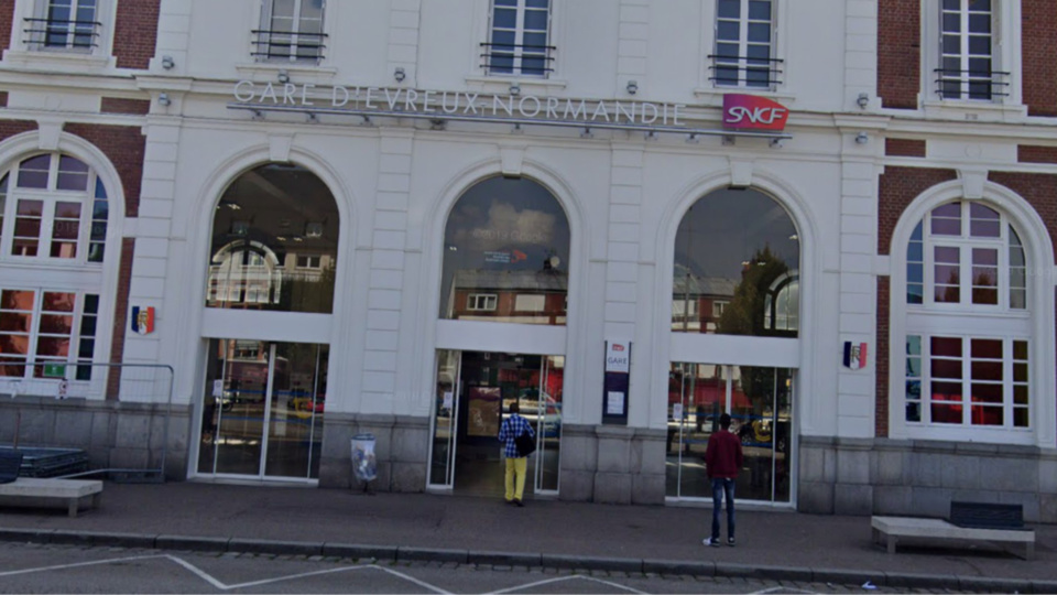 Le voyageur a été interpellé à la gare SNCF d'Évreux - illustration