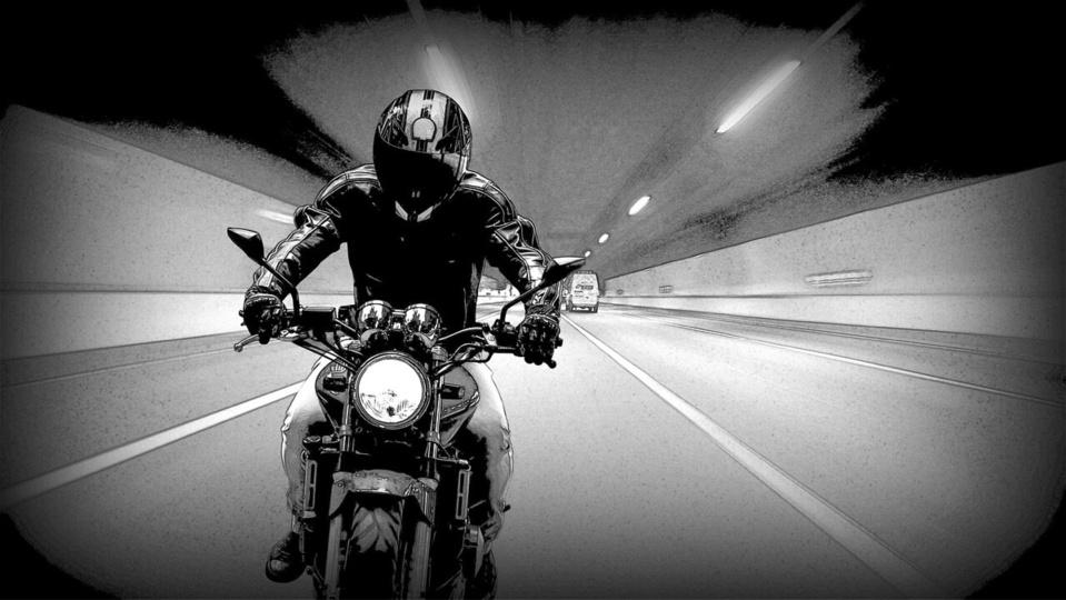 Le motard a été intercepté sur une route départementale - illustration @Pixabay