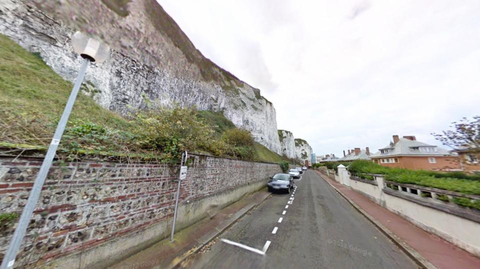 Le corps a été découvert au niveau de la rue Alexandre-Dumas - illustration @Google Maps