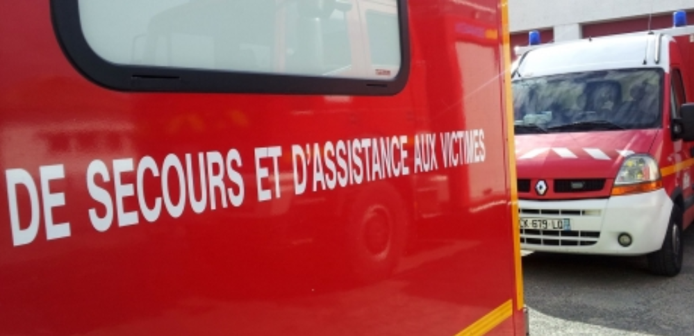 La victime était consciente à l'arrivée des sapeurs-pompiers - illustration