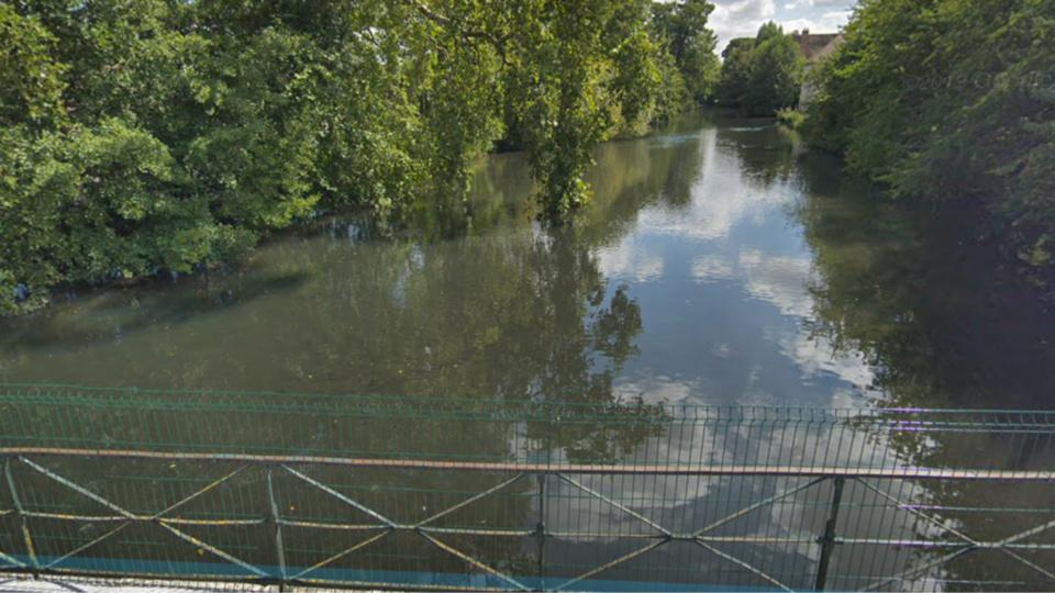 L'Avre, à Nonancourt au sud de l'Eure